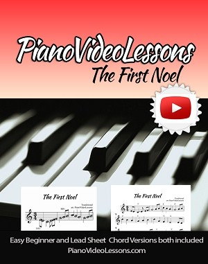 How to Play The First Noel - Easy Piano and Easy Chord Piano