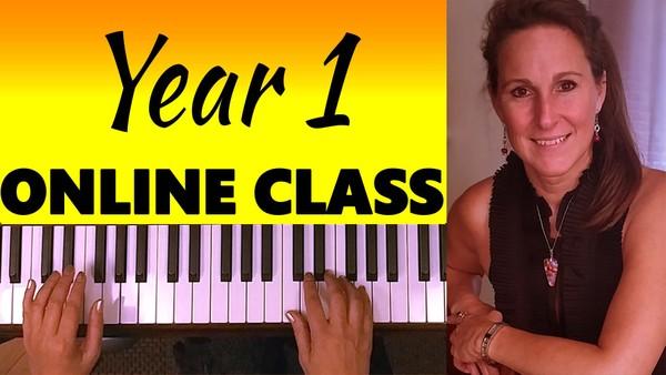 March2020 ONLINE BEGINNER PIANO CLASS