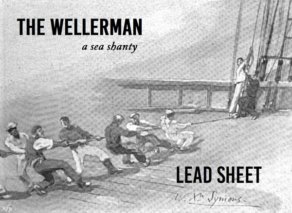 The Wellerman - lead sheet, original key