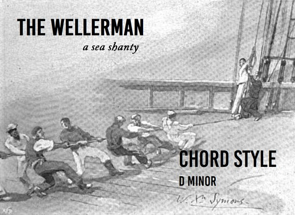 The Wellerman - Chord Style - D minor
