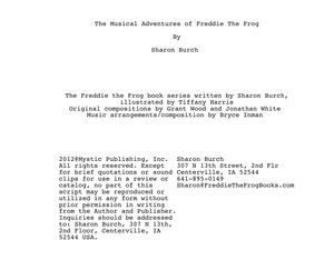 The Musical Adventures of Freddie the Frog®
