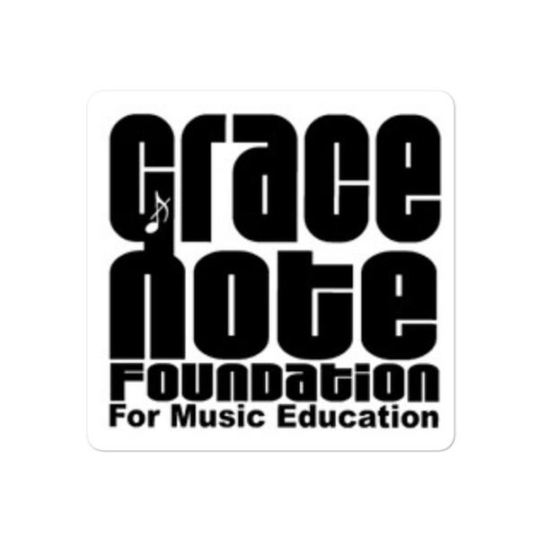 Grace Note Sticker