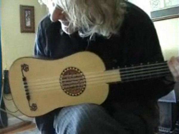 Portuguese Baroque Guitar - 16 Pieces in FRENCH TAB
