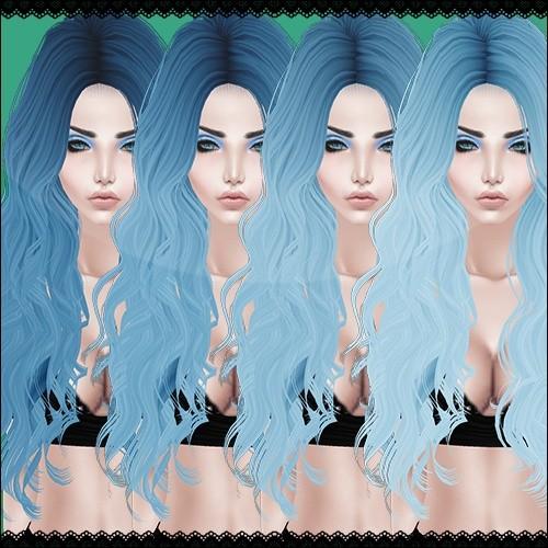 Blue Hair Textures