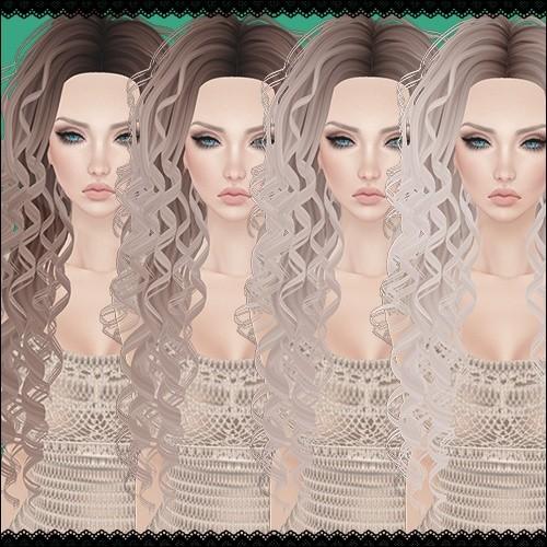 Blonde Hair Textures