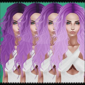 Purple Hair Textures