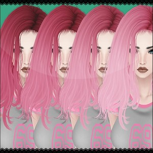 Pink Hair Textures