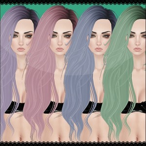 Pastel Hair Textures