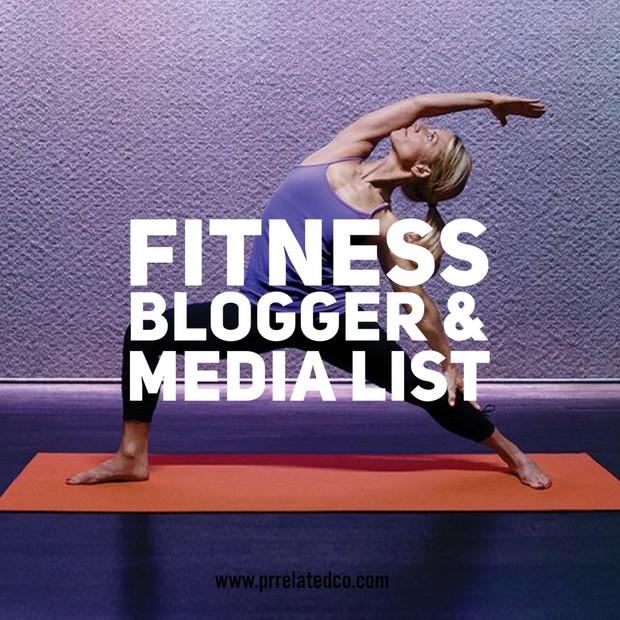 Fitness Blogger/Media North America List