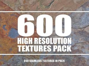 Texture Pack - 600 High Resolution Textures + Seamless