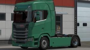 Scania New Gen (SCS): Carénages Lisses