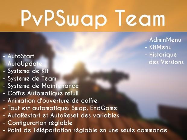 PvPSwap Team [Skript]