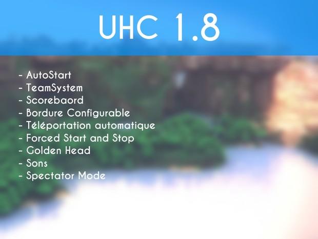 UHC 1.8 Minecraft Skript