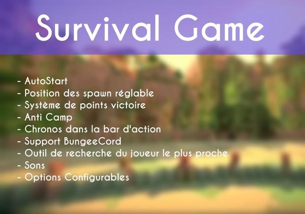 Survival Game 1.8 [skript]