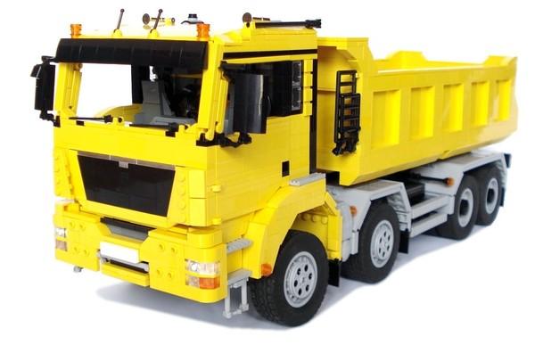 MAN TGS 8x4 Dump Truck