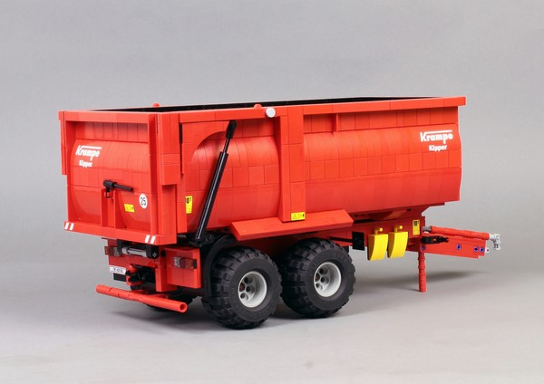 Krampe 550 Tipper Trailer