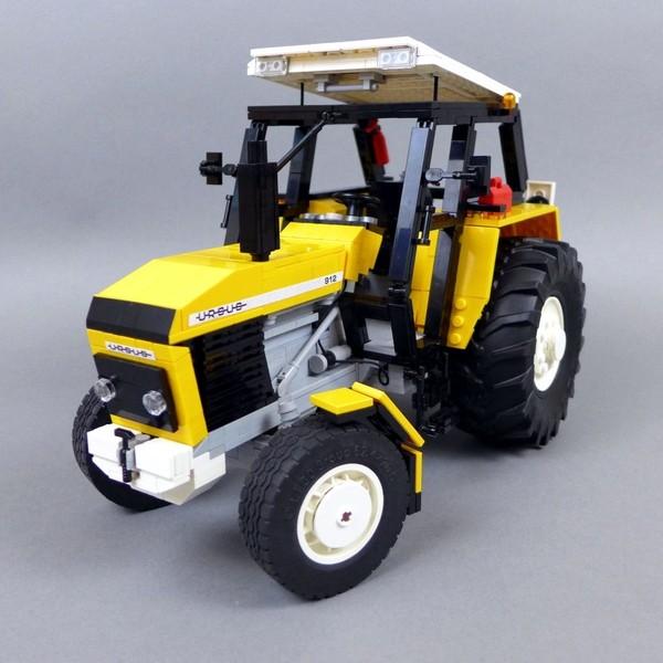 Ursus 912 - Yellow version