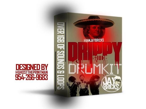 Drippy Sauce Drumkit By Zoe Got Flames