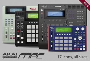 Akai Mpc Drum collection