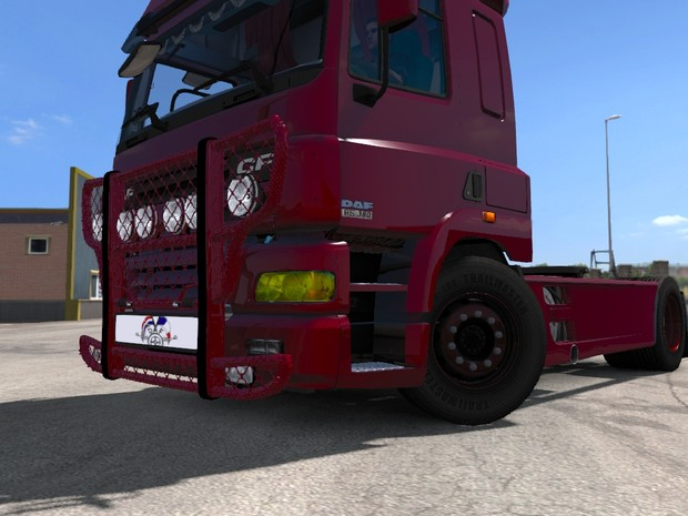 ETS2 MODS 1 33 Trux Bullbar For All Truck