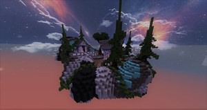 SKYBLOCK SPAWN WITH AMAZING TEXTURES (2018) (NEW) (CHEAP)