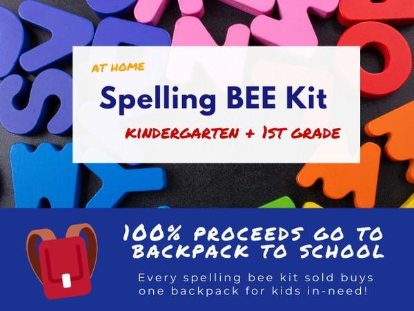 Kindergarten + 1st Grade Spelling Bee Kit