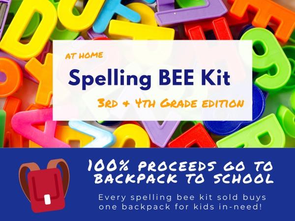 3rd & 4th Grade Spelling Bee Kit