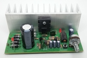 How to build the 0-50volts 3A variable power supply