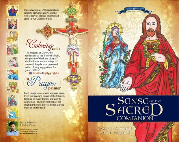 'Sense of the Sacred' Coloring Companion