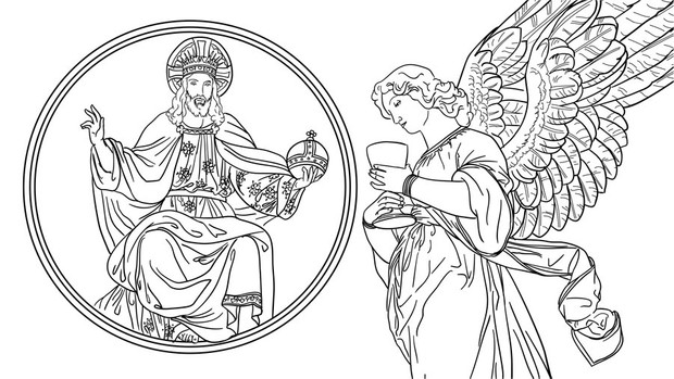 'Sense of the Sacred' Coloring Book