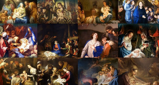 18 Gorgeous Classical Paintings - HD Christmas Wallpapers