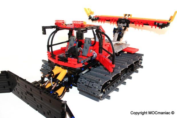 Lego Technic Snow Groomer PistenBully 600