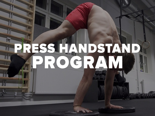 Master the Press to handstand