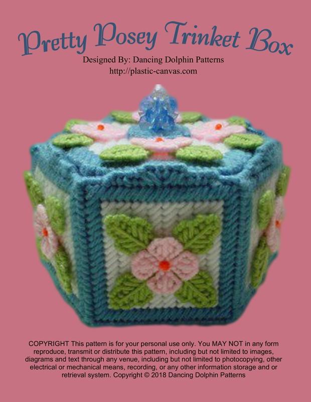 094 - Pretty Posey Trinket Box