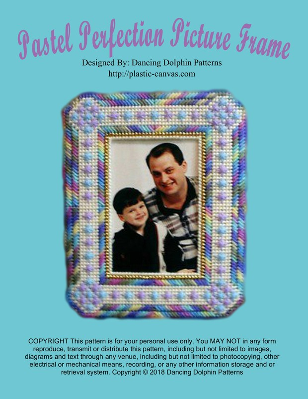 141 - Pastel Perfection Picture Frame
