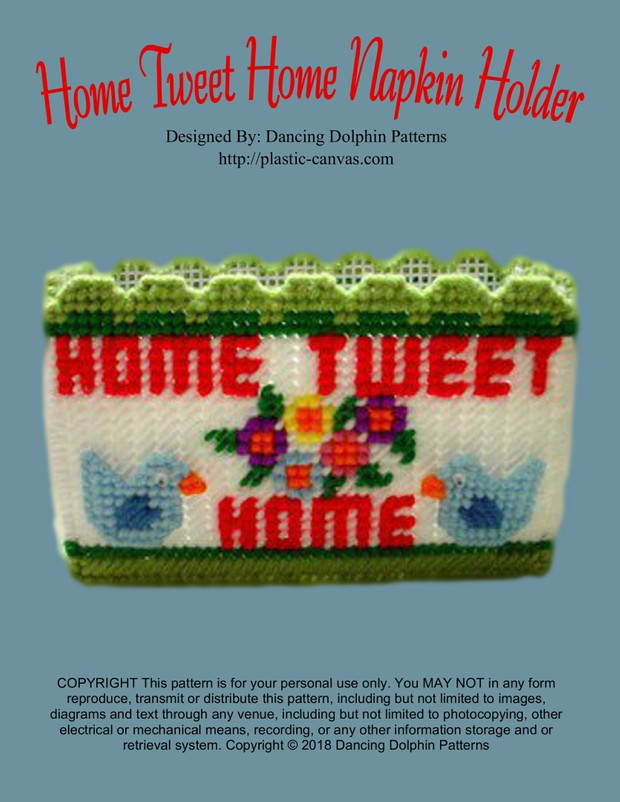 221 - Home Tweet Home Napkin Holder