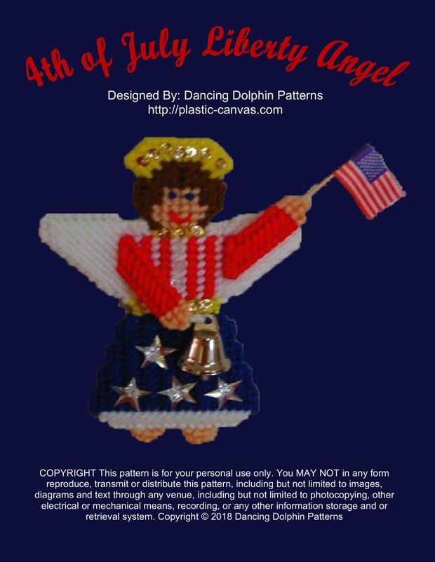 243 - 4th of July Liberty Angel