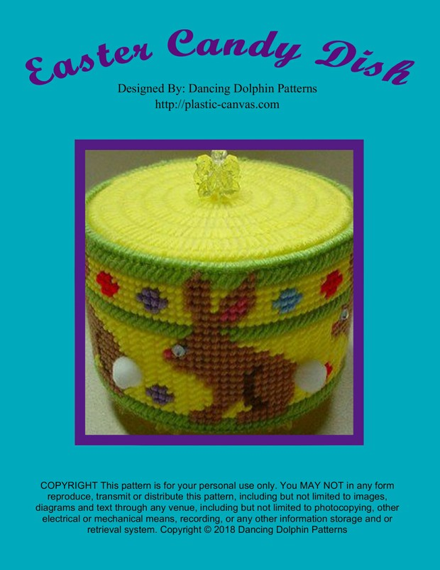 113 - Easter Candy Dish