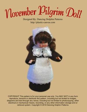 161 - November Pilgrim Doll