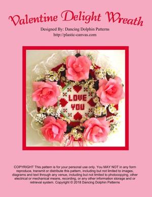 428 - Valentine Delight Wreath