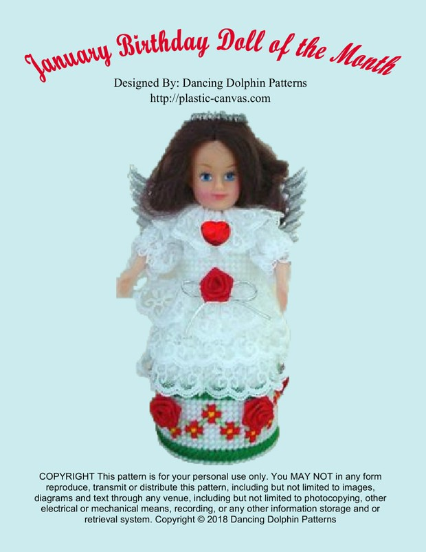 397 - January Birthday Doll of the Month