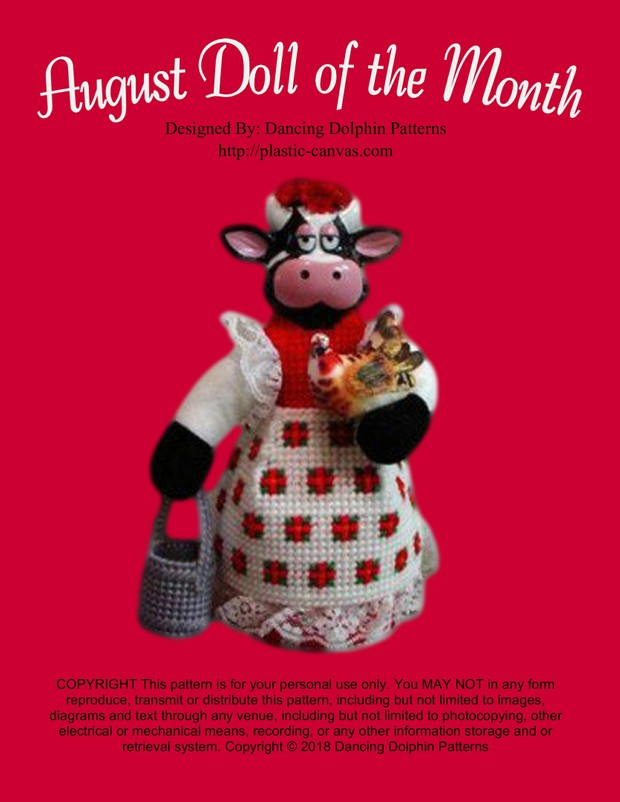 140 - August Doll of the Month