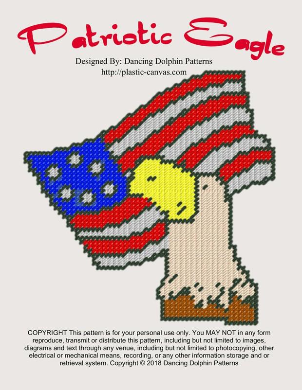 555 - Patriotic Eagle