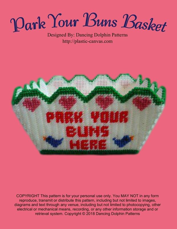 234 - Park Your Buns Basket