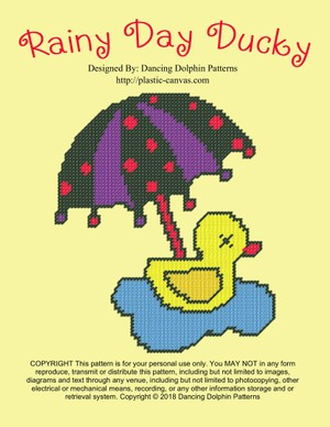541 - Rainy Day Ducky