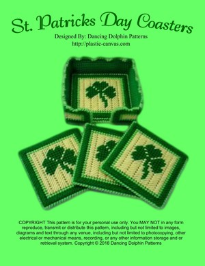 424 - St. Patricks Day Coasters