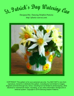 214 - St. Patrick's Day Watering Can