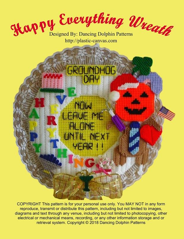 446 - Happy Everything Wreath