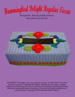024 - Hummingbird Delight Regular Tissue