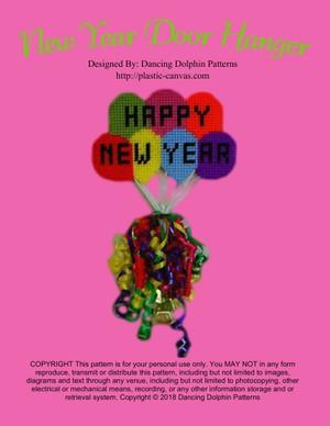 283 - New Year Door Hanger